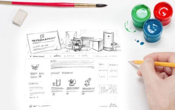 Дизайн услуги, баннеры, заказать дизайн сайта